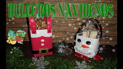 dulceros navidenos diy dulceros navide 241 os youtube