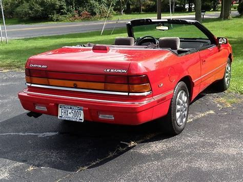 auto air conditioning repair 1995 chrysler lebaron parental controls sell used 1995 chrysler lebaron gtc convertible 2 door 3 0l in east amherst new york united states