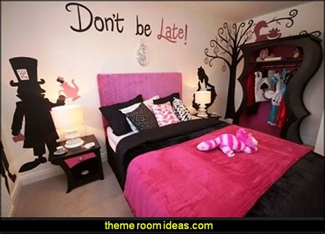 alice in wonderland bedroom ideas decorating theme bedrooms maries manor alice in