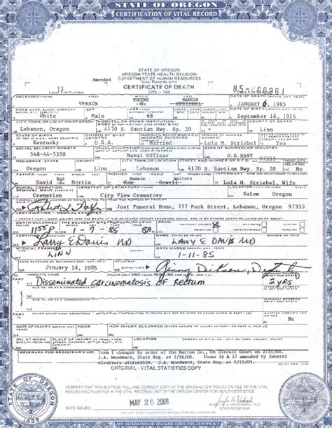 Washington Vital Records Birth Certificate Best Photos Of Oregon Birth Certificates Oregon Birth Certificate Form Birth