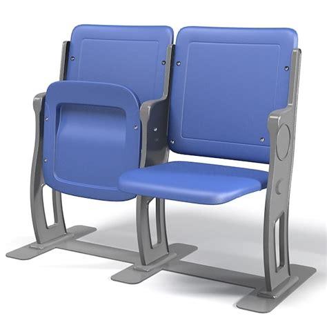 stadium bench seat 3d stadium seat model