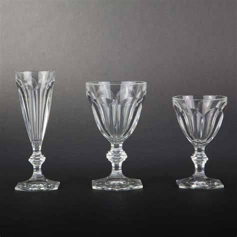 bicchieri cristal dix huit verres harcourt en cristal de baccarat