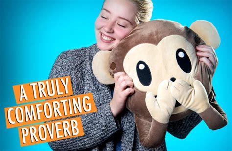 Big Comfy Monkey See Monkey Do by Hear No Evil Monkey Pillow A Plush Monkey Recreates The