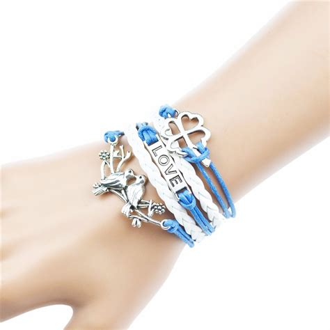 Gelang Butterfly Gelang Vintage Butterfly Leather Bracelet Bangle