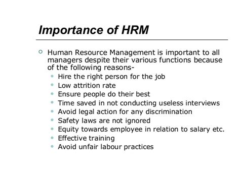 Why Mba In Human Resource Management by Human Resource Management Mba