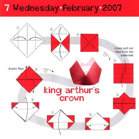 How To Make Paper Crown - wallpapers for free hd origami diagrams crown