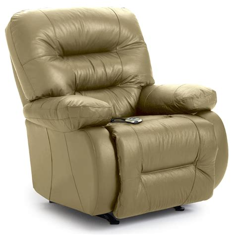 small real leather recliner chairs best home furnishings maddox genuine leather power space