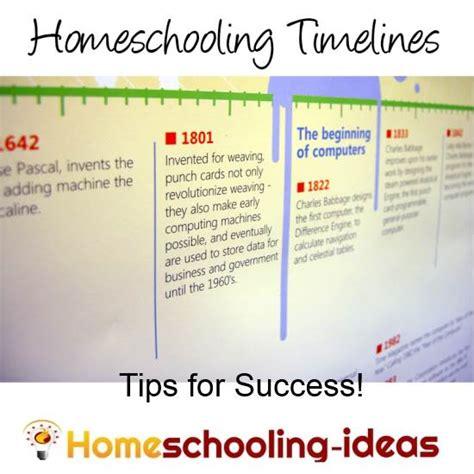 homeschool timeline how to create a timeline