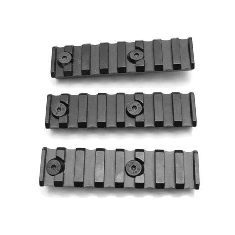 Rail Sections by Keymod 8 Slot Picatinny Rail Section Set Of 3
