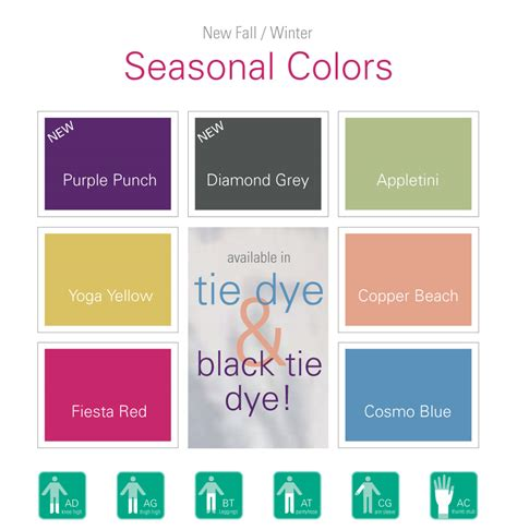 colors for 2016 new juzo seasonal colors for fall winter 2016