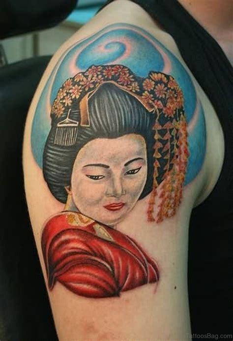 small geisha tattoo 65 graceful geisha tattoos on shoulder