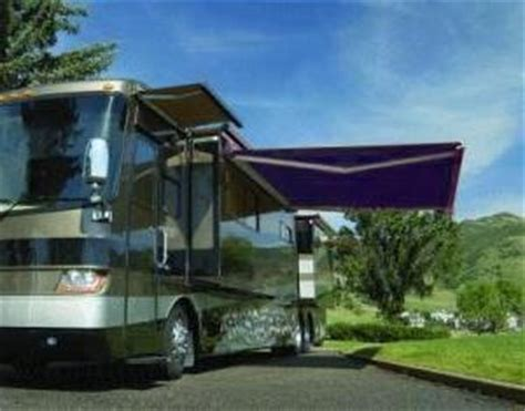 rv retractable awnings high quality blue 11 5 x 8 rv retractable patio awning
