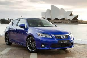 2012 lexus ct 200h gets optional f sport package autoblog