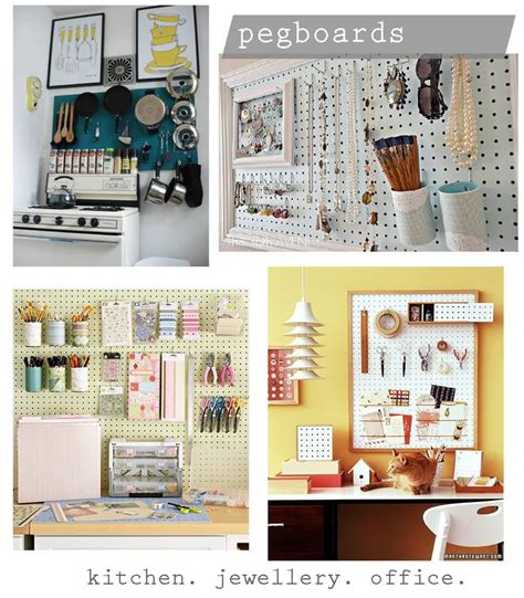 pegboard ideas peg board ideas organization pinterest