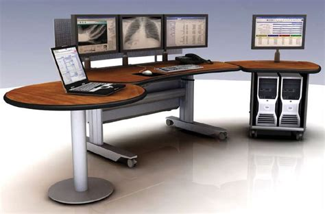 Dispatch Desk by Room Consoles 911 Dispatch Furniture Tbc