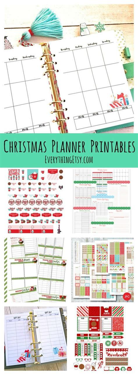 printable christmas planner a purposeful peaceful christmas planner printables planner stickers free