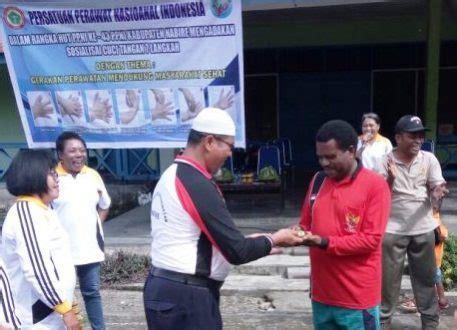 Baju Dinas Kesehatan Dinkes Nabire Diajak Wujudkan Germas Suara Papua
