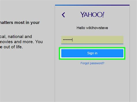 yahoo email restore how to recover a yahoo account 14 steps with pictures