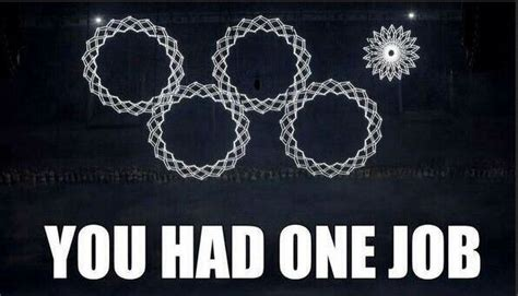 Sochi Meme - there is only one lord of the olympic rings but then