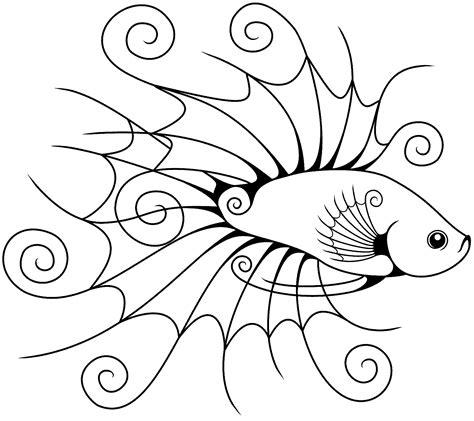 Akik Gambar Motif Ikan Cupang mewarnai gambar ikan cupang hias dan laga murid 17