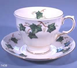 colclough bone china ivy leaf vintage bone china cup and
