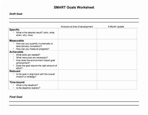 6 Smart Action Plan Template Word Poiwa Templatesz234 Smart Goals Template Excel