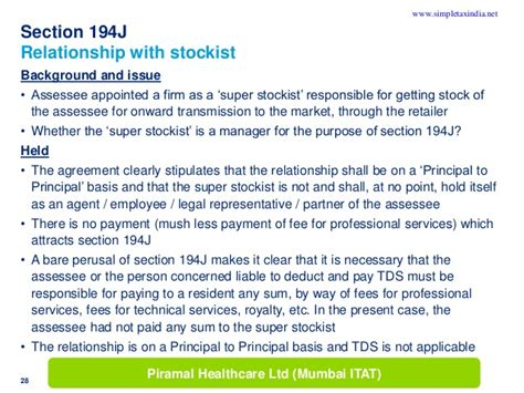 tds under section 194j practical issues in tax deduction at source uploaded by