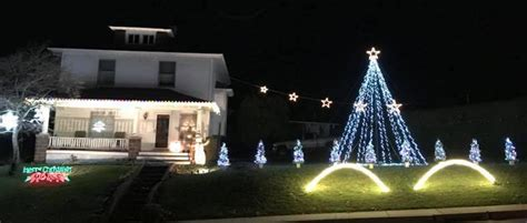 christmas light display in pennsylvania outdoor light displays in lancaster pa 2017 list