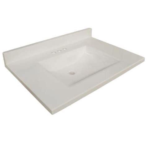 31 Inch Granite Vanity Top by Design House 554030 Wave Bowl Premium Granite Vanity Top