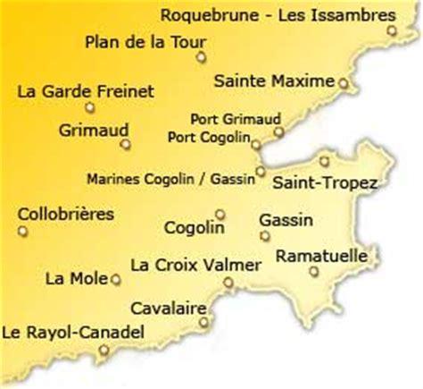 Golfe de Saint Tropez : Vacances Hotels Tourisme