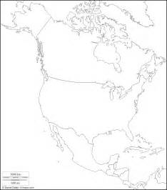 america physical map blank geografia prof salvatore liguori
