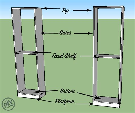 How To Build Custom Bookcases The Diy Village How To Build Custom Bookshelves