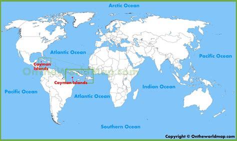 cayman islands in world map cayman islands location map