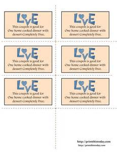 Pin blank love coupons image search results on pinterest