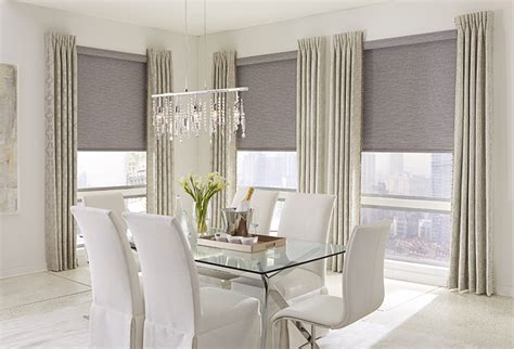 Roll Pleat Drapery Roller Shades The Popular Window Covering