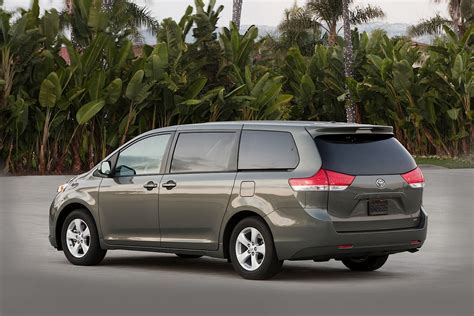 toyota minivan 2014 toyota sienna remains the only awd family van