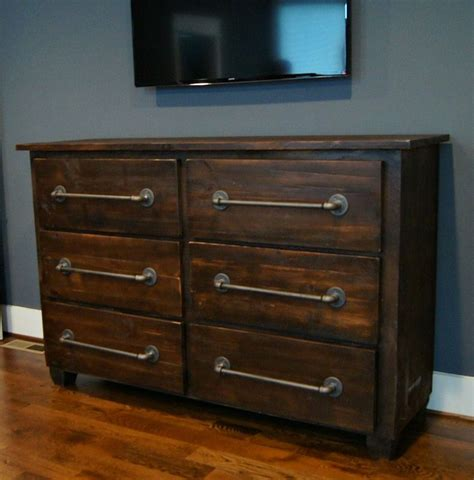 Rustic Bedroom Dresser Made Custom Industrial Rustic Dresser By Wooden Company Custommade