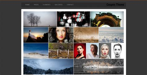html5 photo gallery template free coupon free html5 template creative beacon