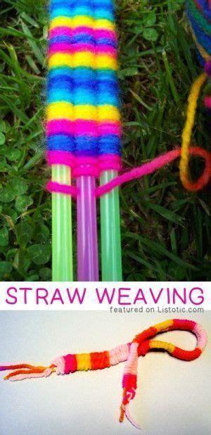 Creative Children Straw Sedotan Kacamata 17 best ideas about weaving on weaving for straw weaving and straw crafts