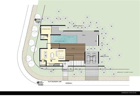 House Drawing Plan gallery of george michael residence vardastudio
