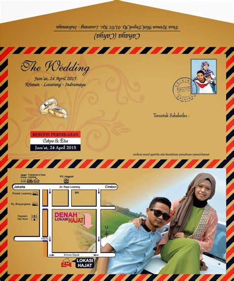 desain undangan pernikahan kipas 20 contoh desain undangan pernikahan unik simple dan