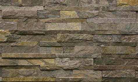 Yellow And Gray Kitchen by Decorative Stone Wall Panel For Interior Exterior Home