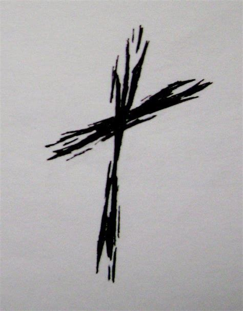 rugged cross tattoo best 25 christian cross tattoos ideas on