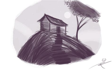 cabin sketch cabin sketch by rockyroark on deviantart