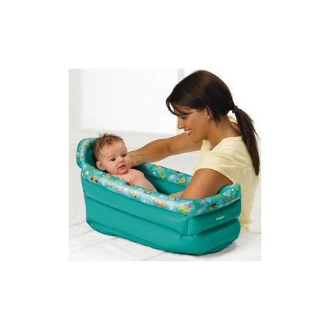 Baignoire Bebe Gonflable Bain by Baignoire Gonflable De Voyage Bebe 0 6 Mois Tomy Achat