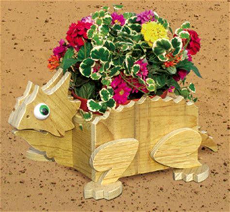 planter woodworking plans horned toad flower pot planter