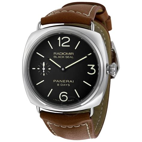 panerai radiomir black brown leather s pam00609 radiomir panerai watches