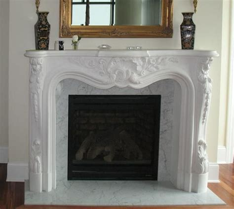 Gypsum Fireplace by Polymers Mantels And Beautiful On