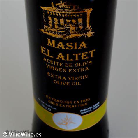 Minyak Zaitun Masia El Altet 237 a el altet el mejor aceite mundo vinowine