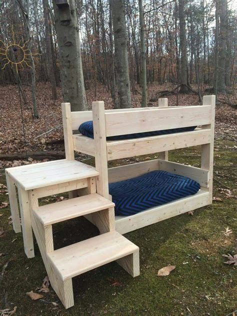 cat stairs for bed 17 best ideas about dog bunk beds on pinterest rustic